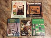 Antique Outdoor Sporting Collectibles Books Hunting Fishing Lures Decoys Prints