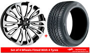 Alloy Wheels And Tyres 23 Hawke Halcyon For Land Rover Range Rover [l322] 02-12