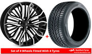 Alloy Wheels And Tyres 22 Hawke Vega For Land Rover Range Rover Sport [lw] 13-20