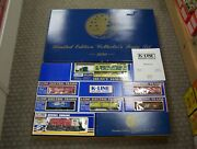 Rare K-line Limited Edition 1990 Proctor And Gamble O-gauge Collectors Train Set