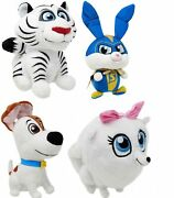 Hu, Max, Gidget And Captain Snowball 6-inch Set Of 4 Plushes