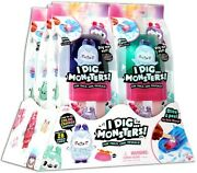 I Dig Monsters Color Change Monji Mystery Popsicle Box [6 Packs]