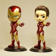 Iron Man - Cute Action Figure Avengers Super Hero Figurine Model Doll Toy Gift
