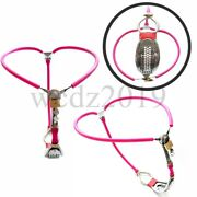Stainless Steel Adjustable Female Chastity Belt Pants Device Restraints Sm Tools