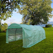20x10x7ft Walk-in Outdoor Greenhouse Tent Portable Backyard Plant Growth Shed