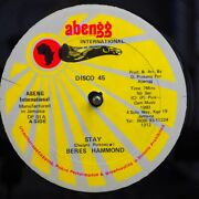Sealed New 12 Inch Beres Hammond - Stay / Pam Hall Dwight Pinkney - Lonely