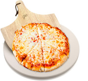 Hans Grill Pizza Stone For Oven And Grill/bbq Cook Pizzas In Seconds 15 Circula