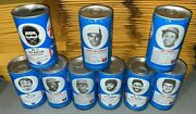 Lot Of 9 Royal Crown Rc Cola Nfl Mlb Soda Cans Pull Tabs Empty