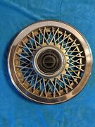 1984 - 1993 Ford Mustang Or Capri Wire Spoke Hubcap 14andrdquo