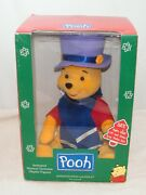 New And Rare Pooh W / Piglet, Rises From Under Hat, Animated Figure, Telco