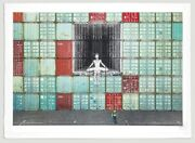 Jr - In The Container Wall Ballerina Lithograph Limited Print Of 180 Sold Out