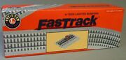 Brand New Lionel Fastrack Lighted Track Bumpers O Gauge 6-12035 2 Per Box