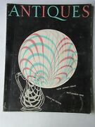 Antiques Magazine September 1952 New Jersey Issue Map Of Nj Marlpit Hall