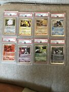 Pokemon Cards Holo Psa 9 Ex Ruby And Sapphire Complete Set 96-103