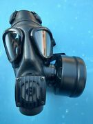 Serbia Army Military Phonic Protective Mask M2f With 40mm Filter -large -