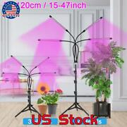 Us 3/4head Led Plant Grow Light Full Spectrum Indoor Hydroponic Lamp With Tripod