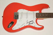 Isaac Brock Signed Autograph Fender Brand Electric Guitar - Modest Mouse Singer