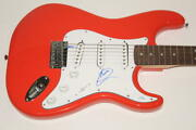Miley Cyrus Signed Autograph Fender Brand Electric Guitar - Wrecking Ball Acoa