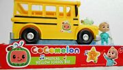 New Cocomelon Musical Yellow School Bus Plays Music And Jj Figure Christmas