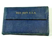 1891 Soldierand039s First Aid Handbook And Indian War Hospital Corpsmanand039s Arm Band