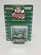 Interstate Batteries Nascar Diecast Car W/ Stand And Nfl Indianapolis Colts Card