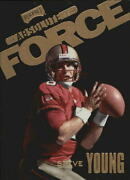 1999 Absolute Ssd Force San Francisco 49ers Football Card Af1 Steve Young