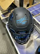 Julius Peppers Signed Carolina Panthers Adult Speed Flex With Visor