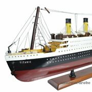 New Rms Titanic 32 1/330 Scale Handcrafted Cruise Ship Model Nautical Decor