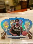 Kyrie Irving 2019-20 Crown Royale Crystal Platinum Super Rare One Of One Bgs9
