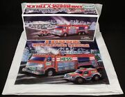 Brand New In Box 2005 Hess Emergency Rescue Truck Battery Op Lights And Sound Nrfb