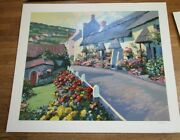 New Old Stock Howard Behrens Limited Edition Giclee Devonshire W Coa
