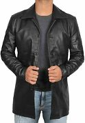 Black Leather Coats For Men - Brown Real Lambskin Mens Leather Jacket