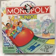 Monopoly Junior 1999 Specially Designed For Ages 5-8 Parker Brothers 2-4 Players
