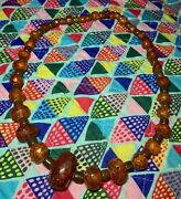 Amber Necklace From Saint Petersburg Russia Antiques Store 1990