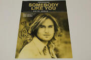 Keith Urban Signed Autograph Somebody Like You Sheet Music Book - Country Star