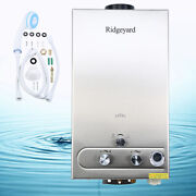 12l Hot Water Heater 3.2gpm Propane Gas Lpg Tankless Instant Boiler Outdoor Fn