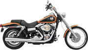 Bassani 2-1 Chrome 4 Road Rage Exhaust For 06-17 Harley Dyna Fxd Fxdl Fxdwg