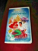 The Little Mermaid Vhs Black Diamond Classic Excellent Pre-owned Condition