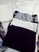 Lot Of 9 Pencil Skirts Bebe Vince Camuto Handm And Bcx Womens Size 5 And 6
