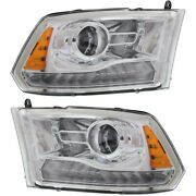 68093216ad 68093217ad Ch2503244 Ch2502244 Headlight Lamp Left-and-right