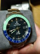Very Good Zodiac Super Sea Wolf Gmt Hodinkee Limited Edition Menand039s Watch