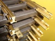 Bachmann G 94651 New Solid Brass Track For Outdoor Use 12 Sections 1 Ft Straight