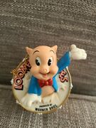 Goebel Looney Tune Spotlight Collection Thats All Folks Porky Pig Ornament