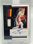 2019-20 One And One Tyler Herro Dual Patch Rookie Auto 10/49