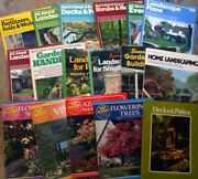 Outdoor Gardening Home Landscaping Book Lot Ortho Books Sunset Countryside ++