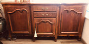 Antique French Oak Buffet Early 1900andrsquos Louie Xv Style