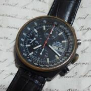Royce Automatic Winding Antique Vintage Military Rare Case-size40mm 1980s F/s