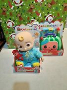 New Cocomelon Jj Doll And Musical Medical Checkup Kit
