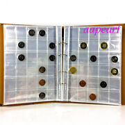 600 Pockets 20 Pages Album Holders Coins Money Storage Collections 32mmx32mm