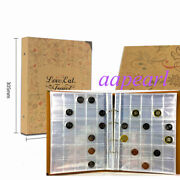 840 Pockets 20 Pages Album Holders Coins Money Storage Collections 28mmx28mm
